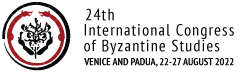 International Congress of Byzantine Studies 2022